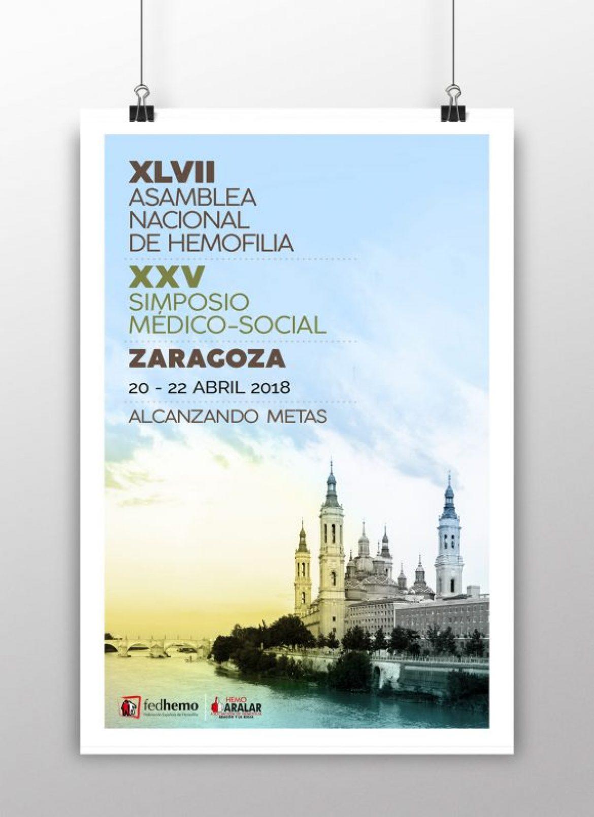 XLVII Asamblea Nacional de hemofilia 2018 – Zaragoza